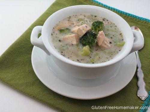 Chicken and Broccoli Chowder - The Gluten-Free Homemaker.