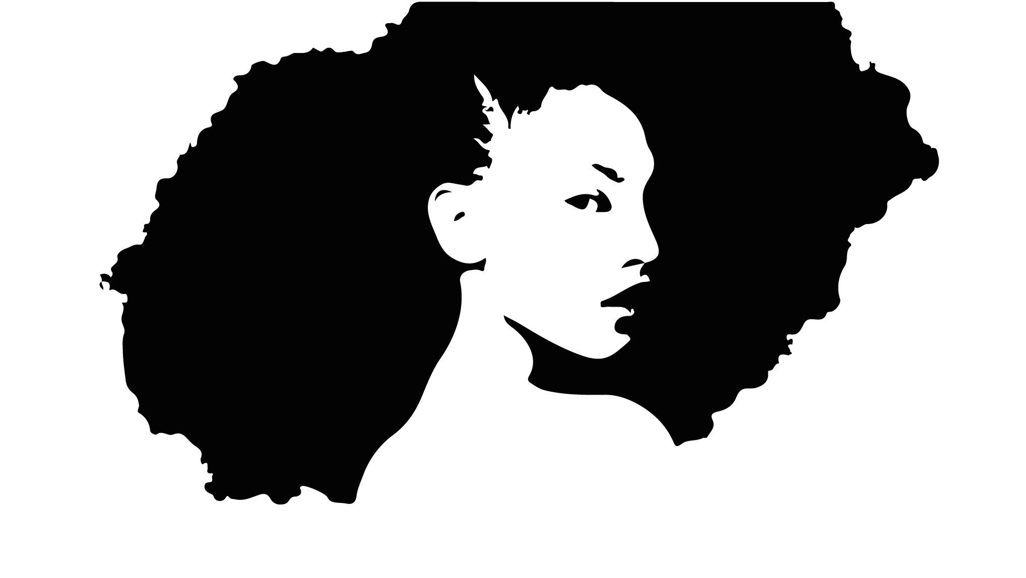 Afro svg afro lady haircut svg afro afro natural
