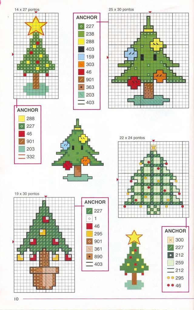 Cross Stitch Christmas theme   ideas   Pinterest   Punto de cruz ...