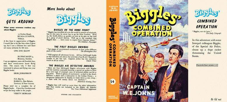 Biggles' Combined Operation. Captain W. E. Johns.