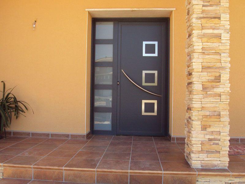 diseos de puertas exteriores de herreria