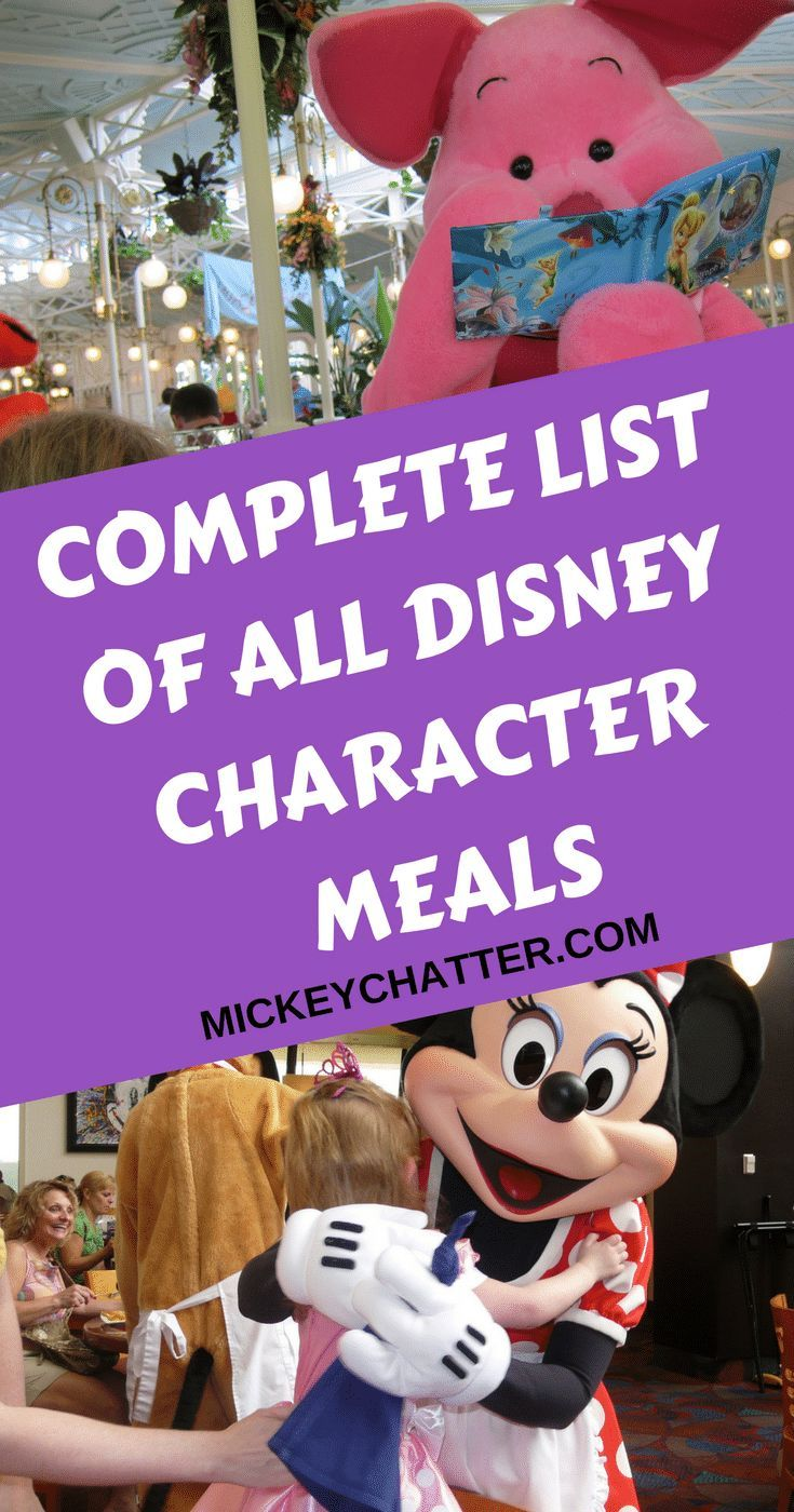 Part 5 - Where To Dine - Page 3 of 4 #disneycharacters