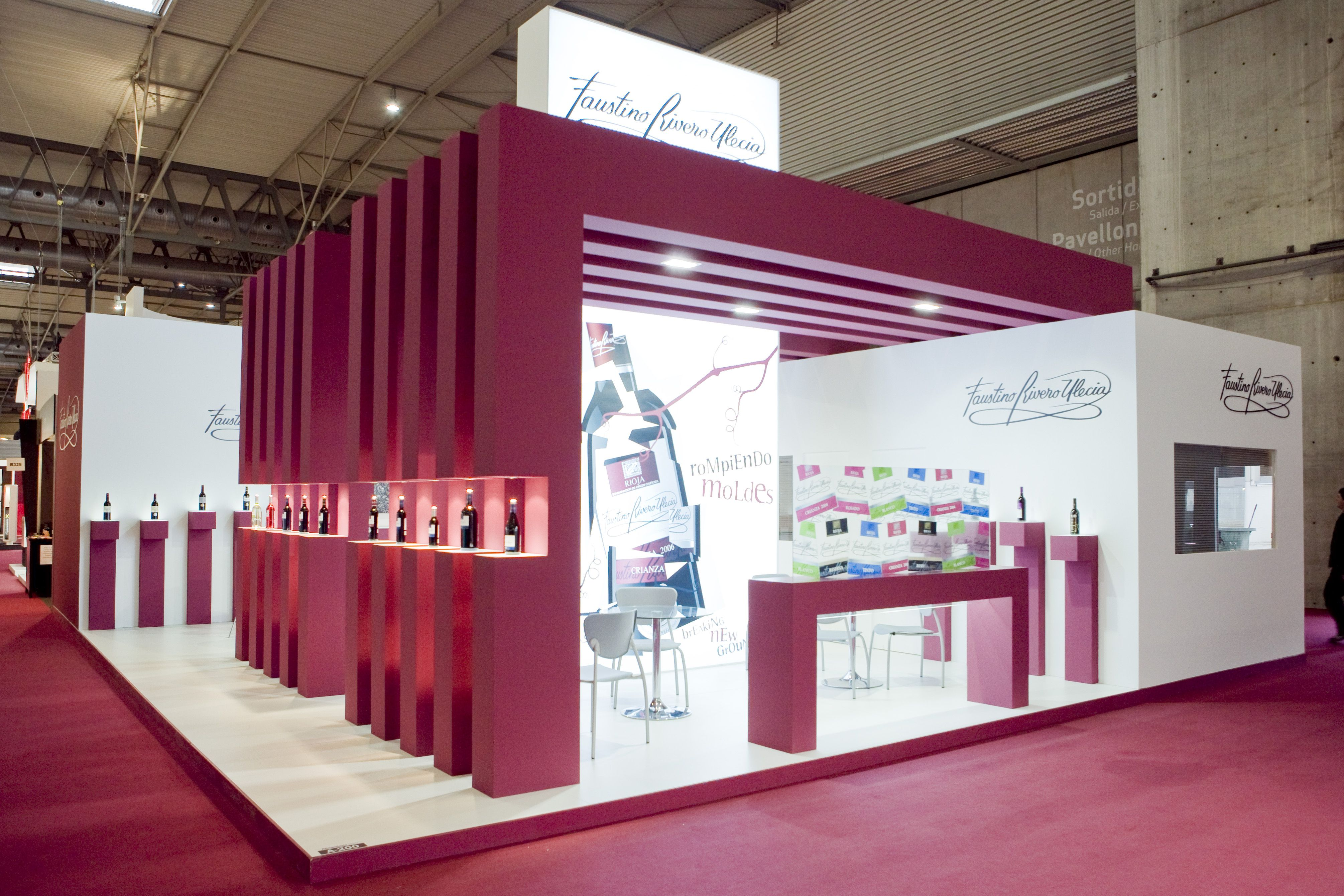 Exhibition Stand Design Barcelona : Stands by servis alimentaria stand builder barcelona