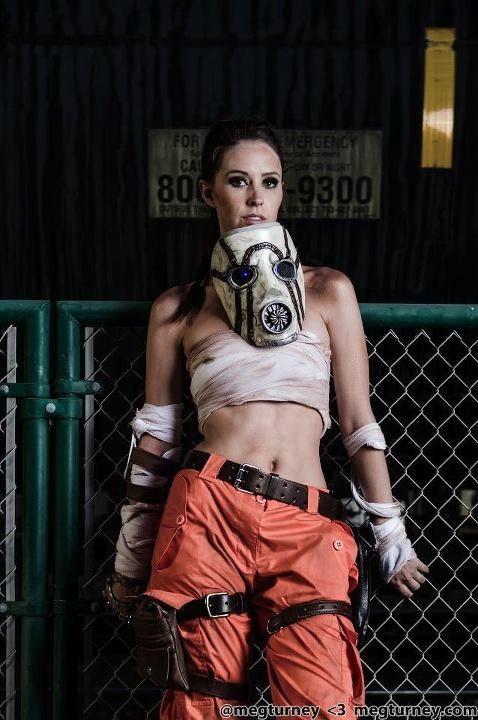 Meg Turney as Female Psycho from Borderlands #rawr