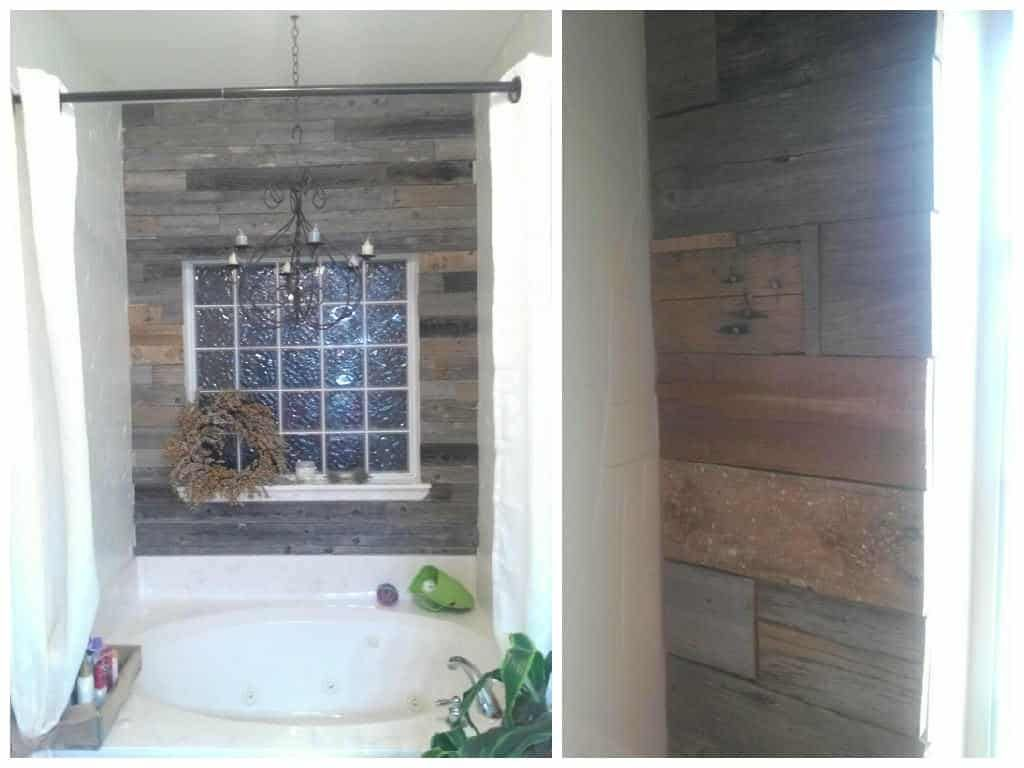 Reclaimed Fence Amp Pallet Wood Wall Wood Pallets Wood