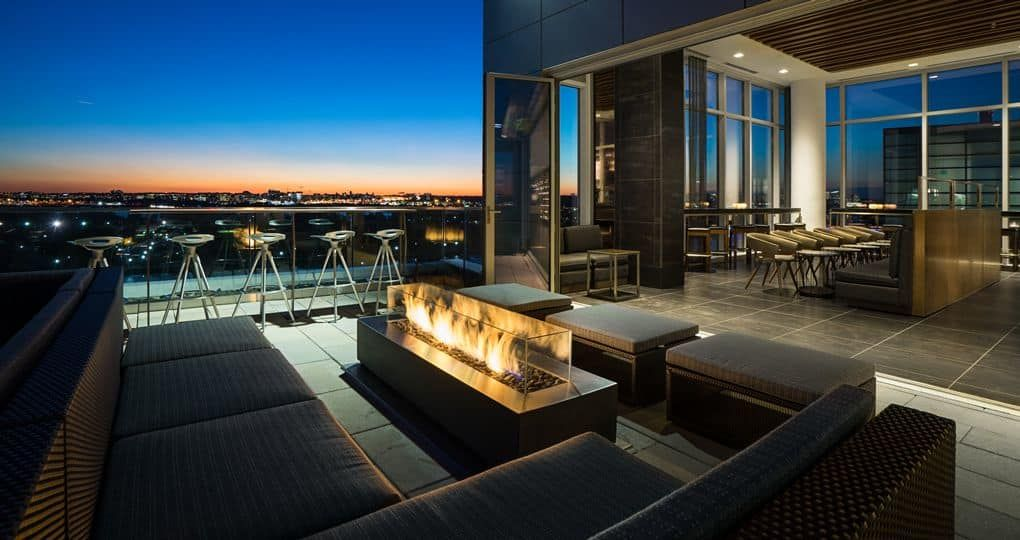 rooftop Terrace at the canopy Hilton at the Wharf DC -by ...