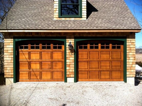 Clopay Classic Wood Panel Garage Doors Add Warmth And