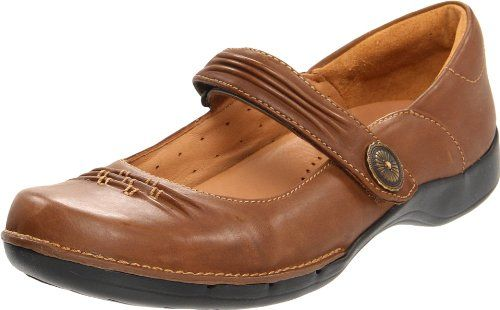 432bca2749288 Clarks Womens UnCedar FlatBrown65 M US ** Click image to review more ...