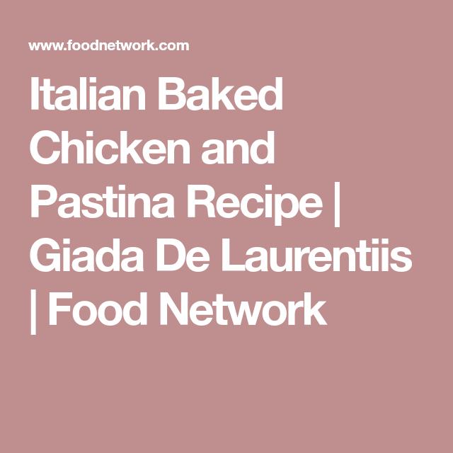 Italian baked chicken and pastina receta italian baked chicken and pastina forumfinder Choice Image