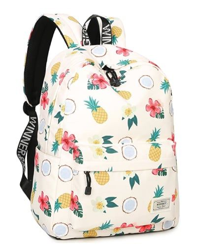 c9c44d337e Tropical Fun Pineapple School Bag. Back to school supplies for teen girls.   backpack
