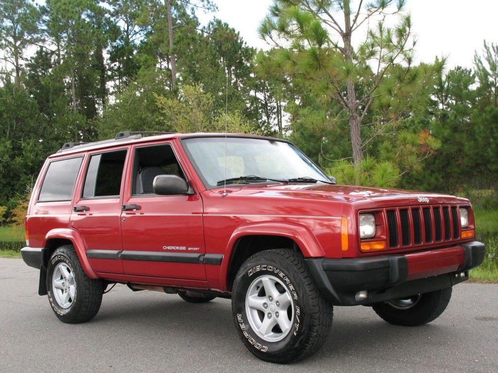 1999 Jeep Cherokee SPORT 4×4 Jeep cherokee sport, 1999
