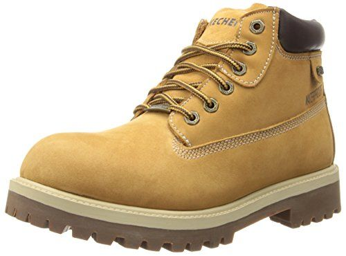 Skechers Mens Verdict Walking Boots Lace Up Waterproof Padded Ankle Collar
