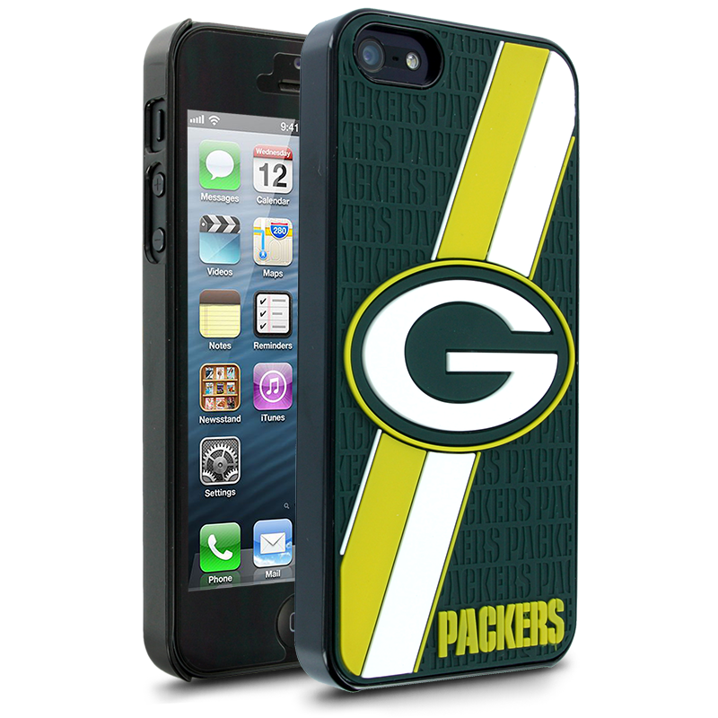 NFL Green Bay Packers Hard Case With Logo for Apple iPhone