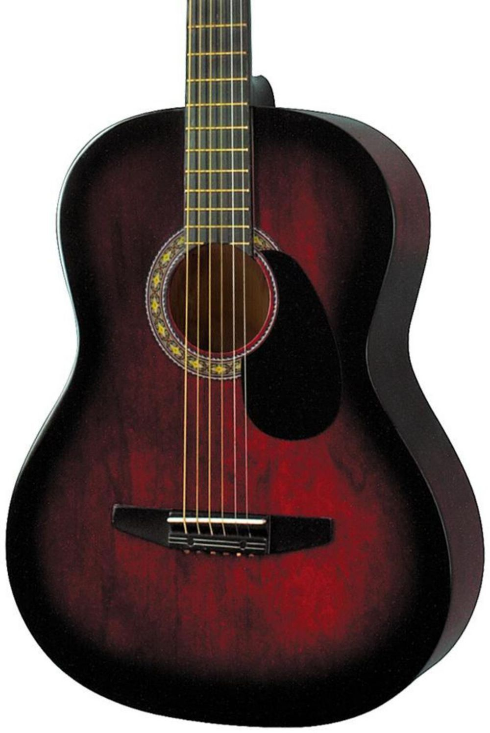 Rogue Starter Acoustic Guitar Red Burst Ovation guitar