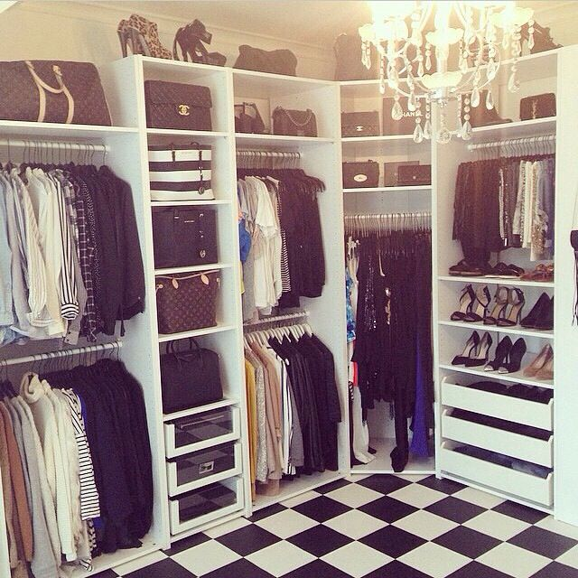 Turn One Room Into A Huge Walk In Closet.