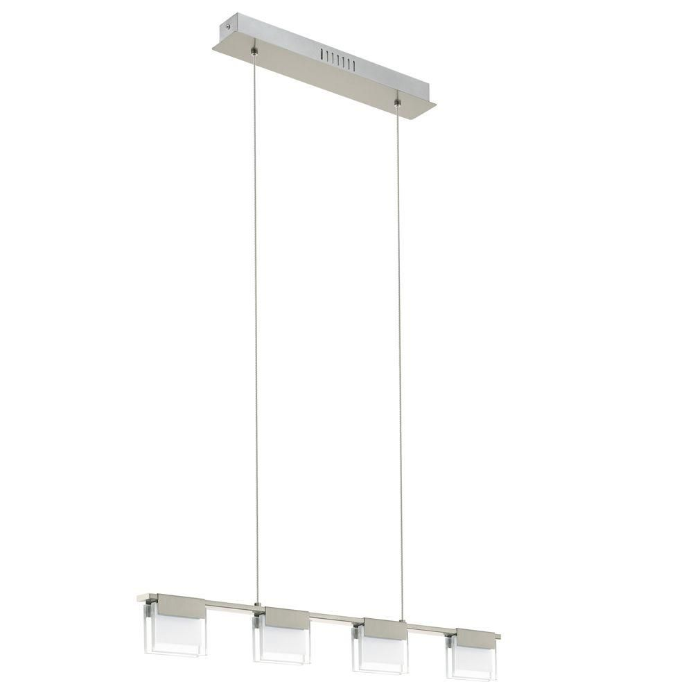 Eglo vicino chrome led hanging light chrome lights and room infuse your living space with clean transitional styling by adding this vicino chrome led hanging light from eglo arubaitofo Gallery