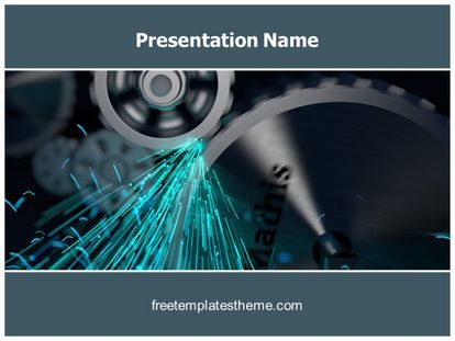 Download Free Gears Friction Powerpoint Template For Your