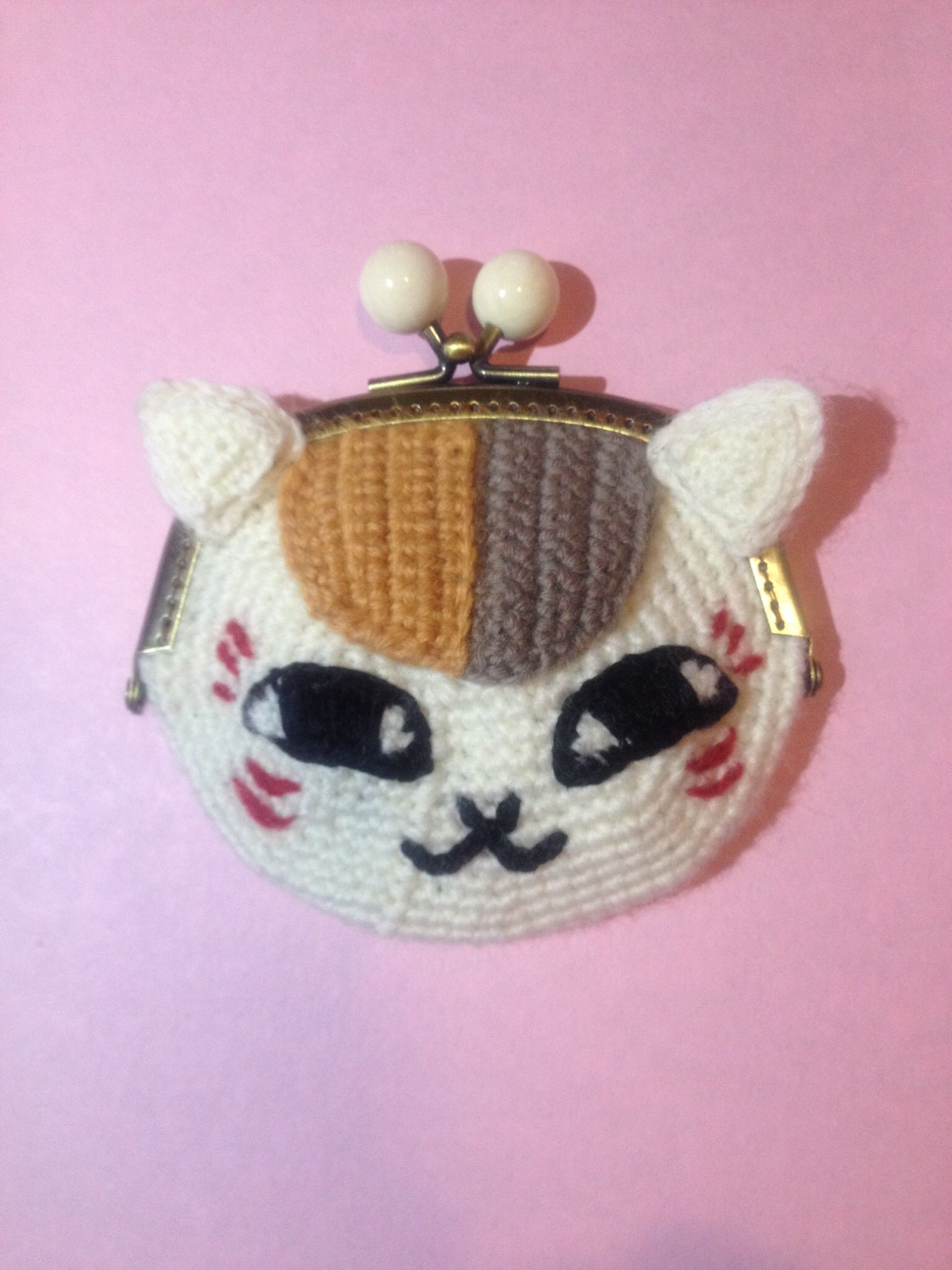 Crochet coin purse | Hand made by my sister | Pinterest | gehäkelte ...