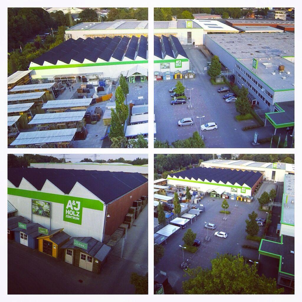 A&J Holzzentrum Hamburg Luftaufnahmen Luftbildaufnahmen