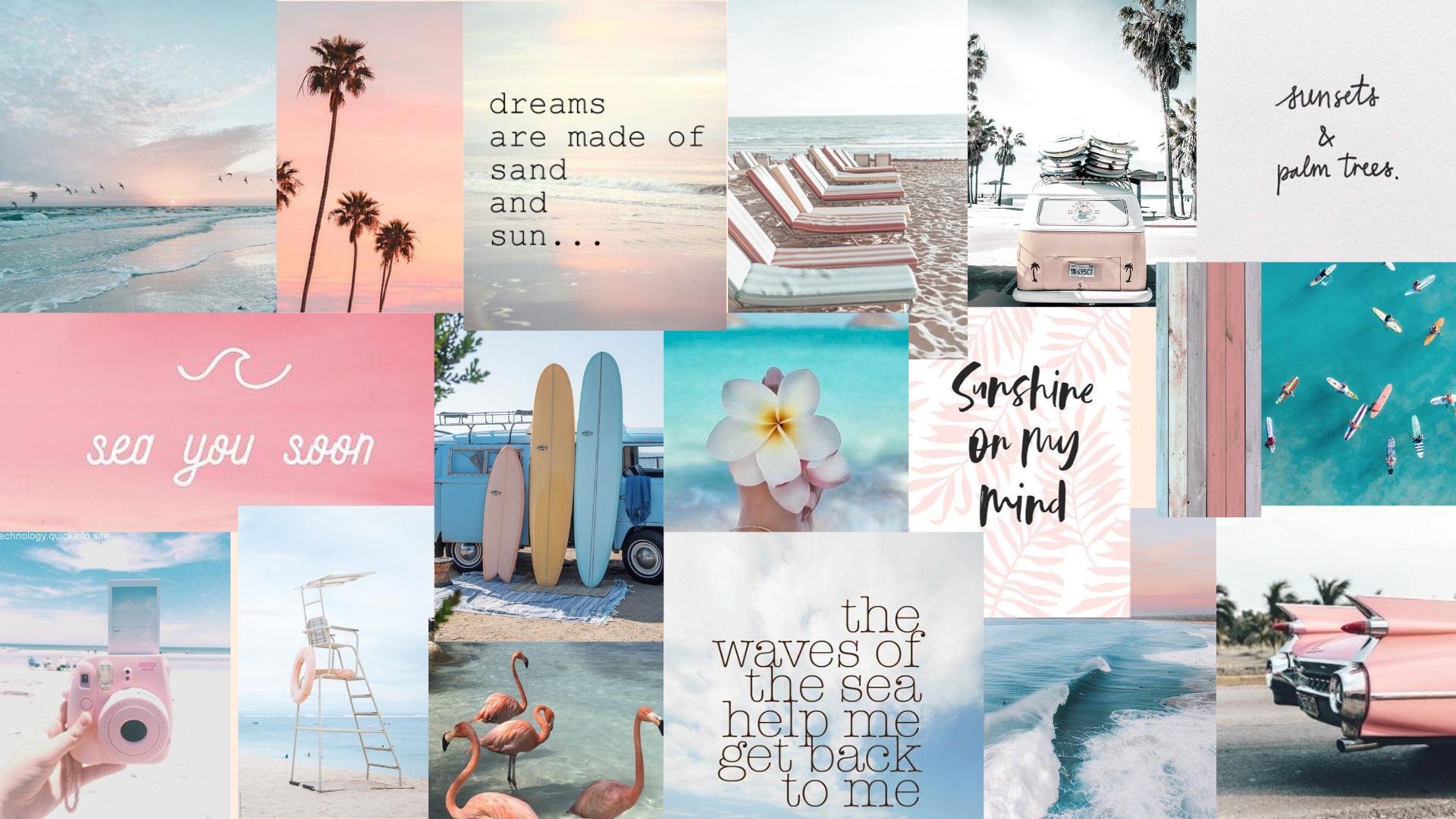 Summer Beach Vibes Wallpaper In 2021 Computer Wallpaper Desktop Wallpapers Aesthetic Desktop Wallpaper Cute Desktop Wallpaper