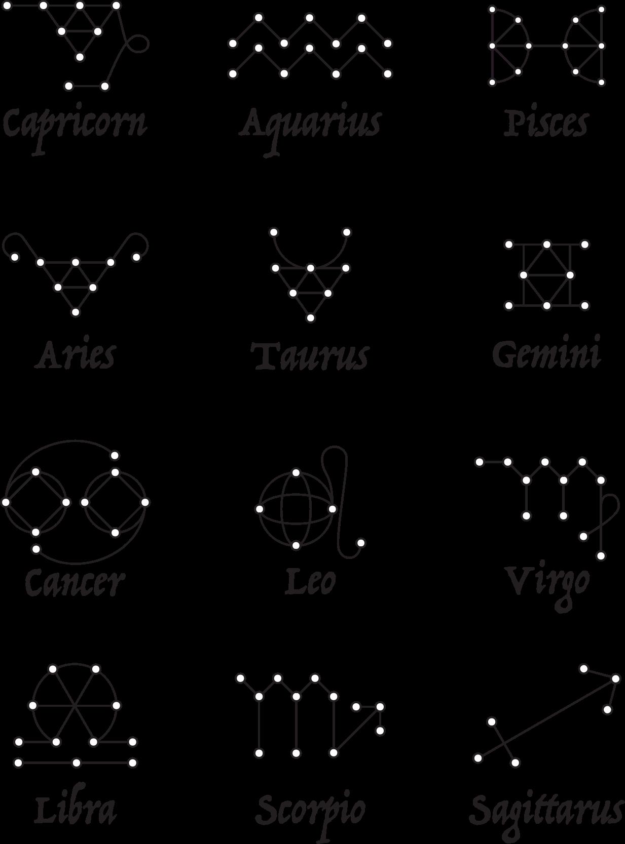 Line Art Zodiac Signs By Bnsonger47 Zodiac Signs Symbols Zodiac Signs Gemini Horoscope Tattoos