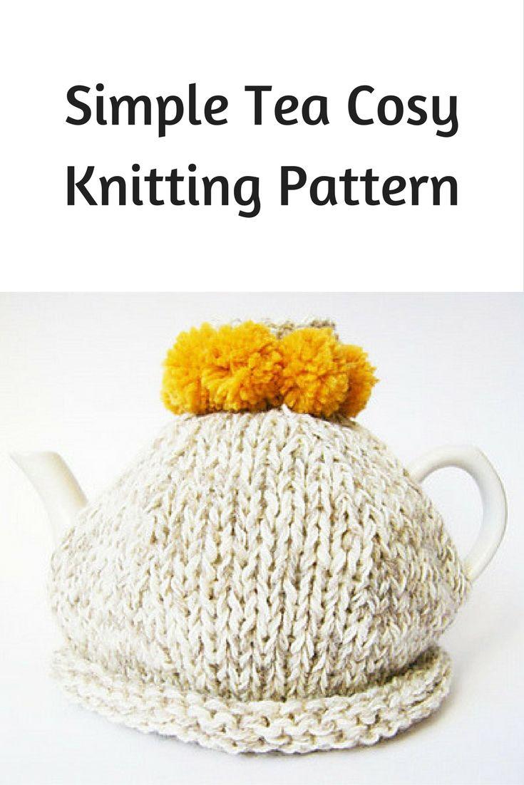 Simple tea cosy free knitting pattern | Free Knitting Patterns ...
