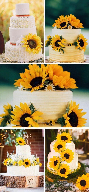 {navy blue and sunflower wedding ideassunflower wedding