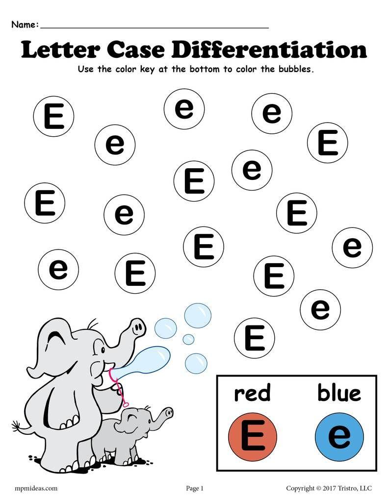 Letter E Do A Dot Printables For Letter Case Differentiation Practice Letter Case Do A Dot Letter E Craft [ 1024 x 791 Pixel ]