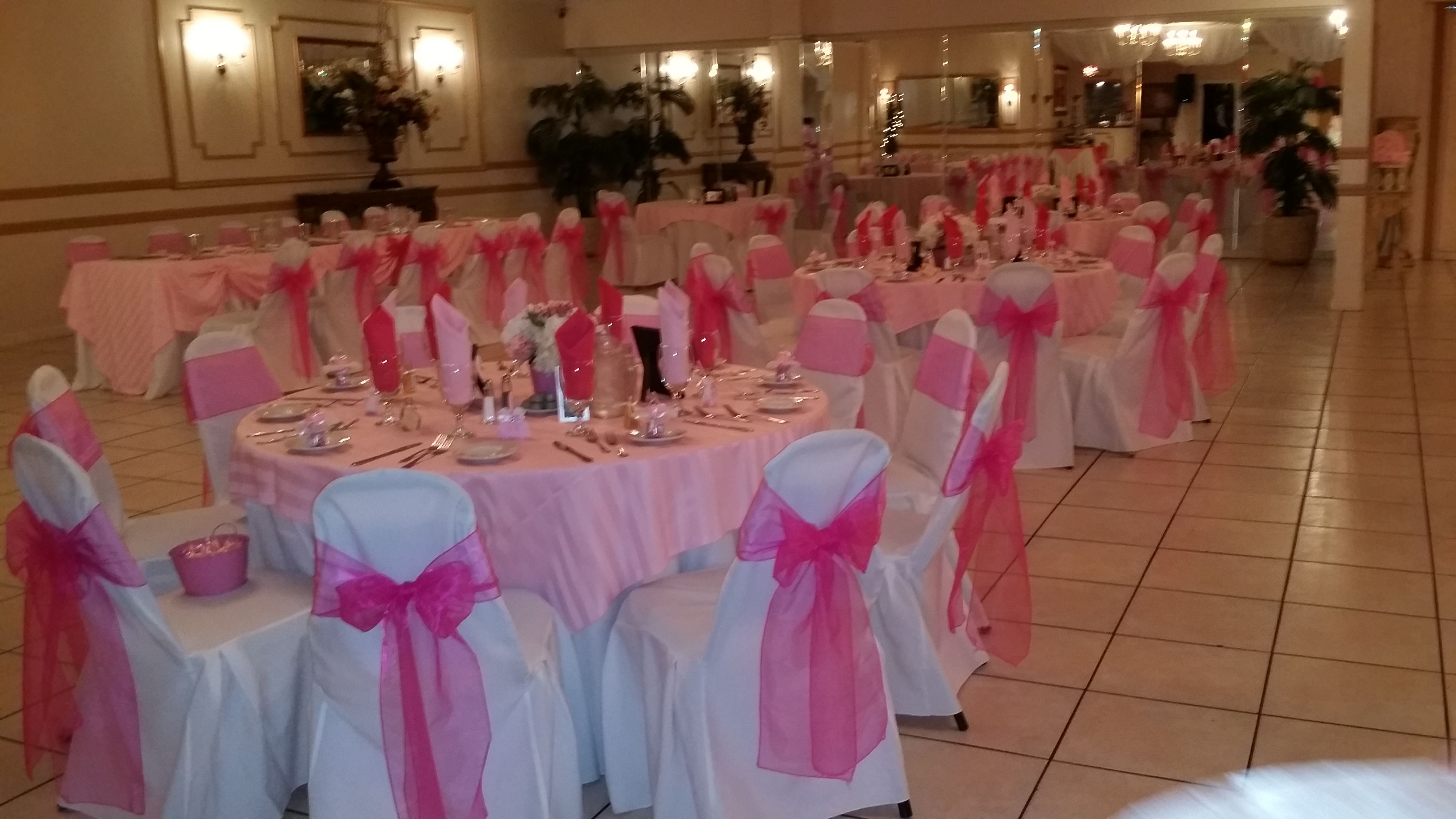 Hot Pink And Lite Pink Are Beautiful For A Girl Baby Shower Baby