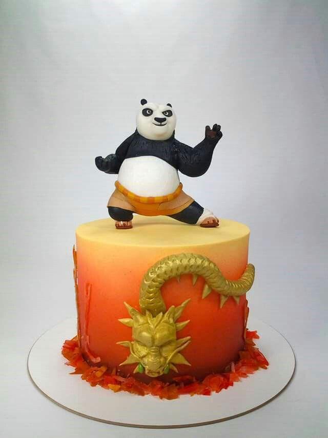 Torta Kun Fu Panda Avec Images Idee Anniversaire Enfant Idee