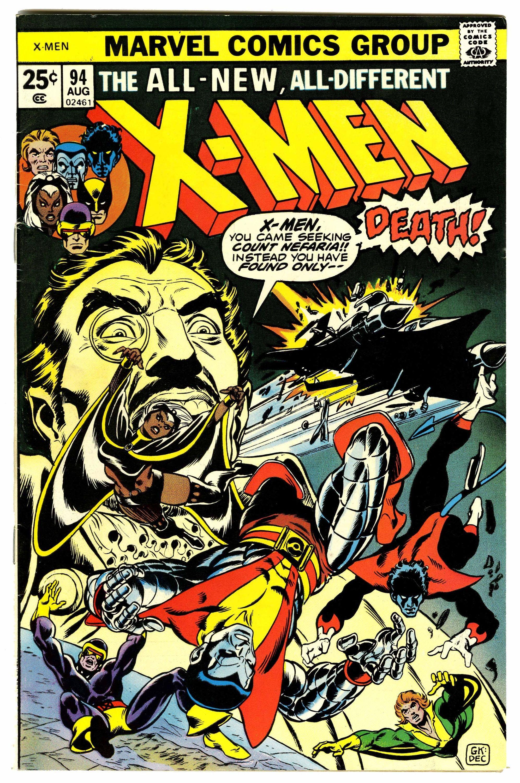 X Men 94 It All Started Here Rare Comic Books Marvel Comics Covers Comics