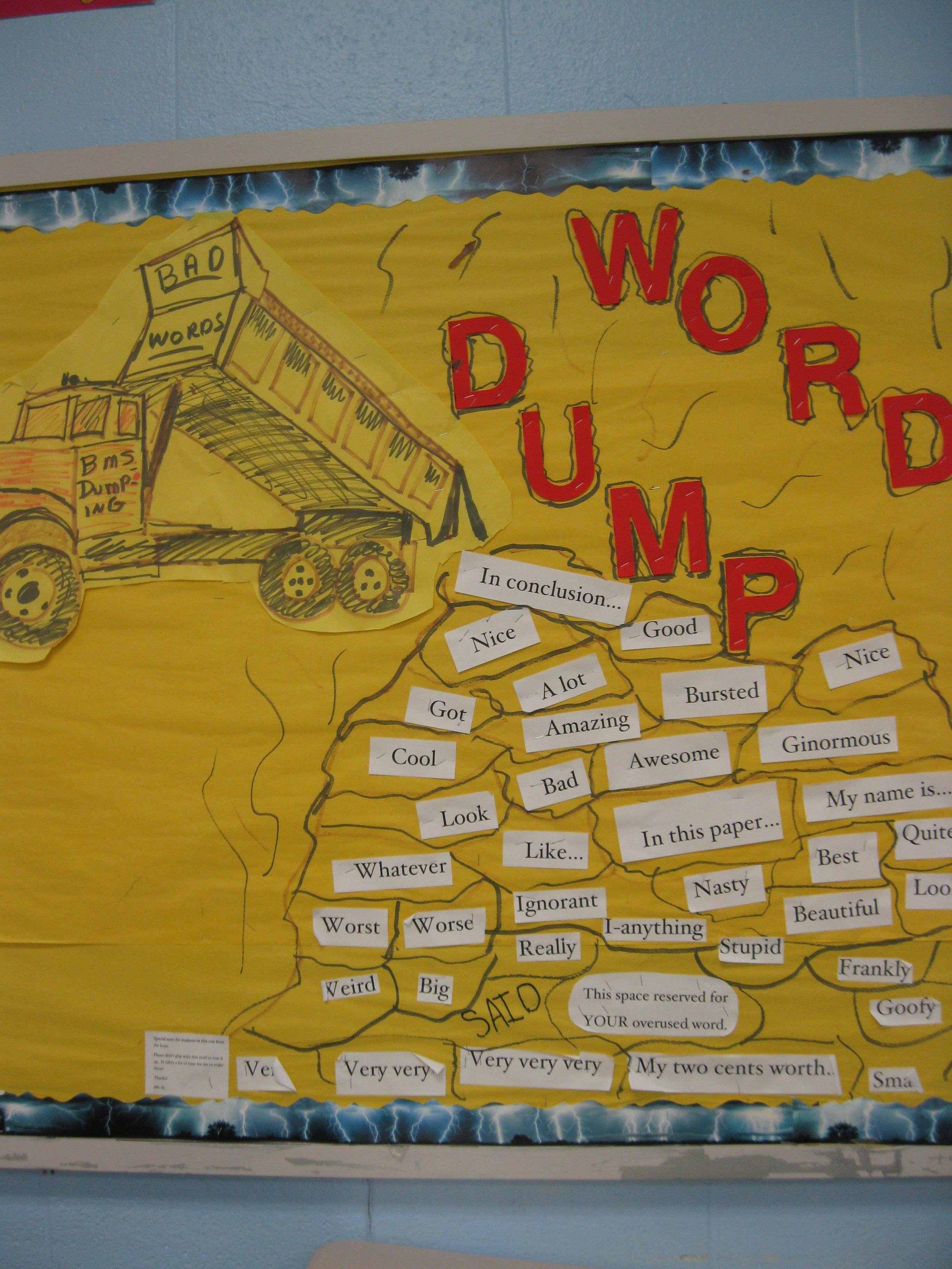 Word Dump\