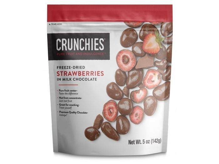 Indulge Your Craving: Crunchies Launches New Chocolate Covered Freeze-Dried Fruit #freezedriedstrawberries Indulge Your Craving: Crunchies Launches New Chocolate Covered Freeze-Dried Fruit #freezedriedstrawberries