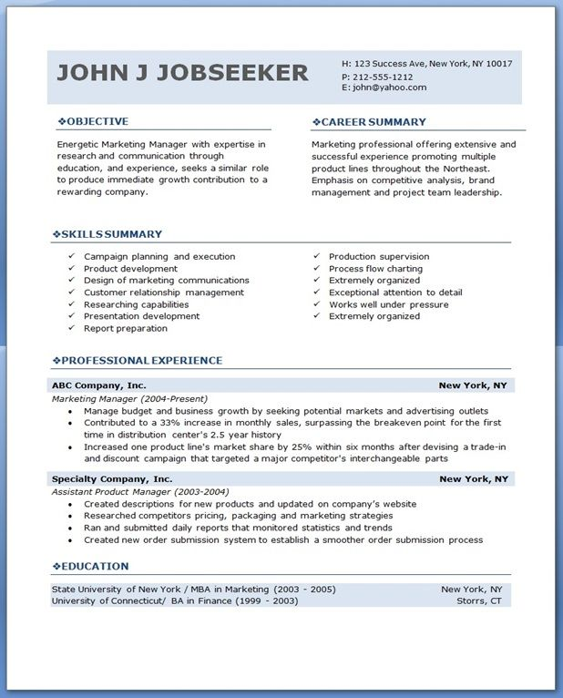 Professional Resume  Creative Resume Design Templates Word