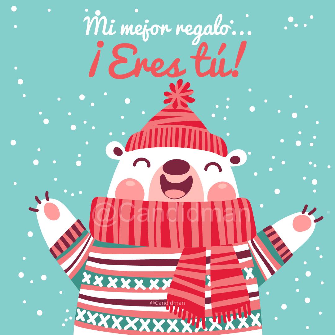 Frases El Mejor Regalo De Navidad.Mi Mejor Regalo Eres Tu Romantico Mi Mejor Regalo