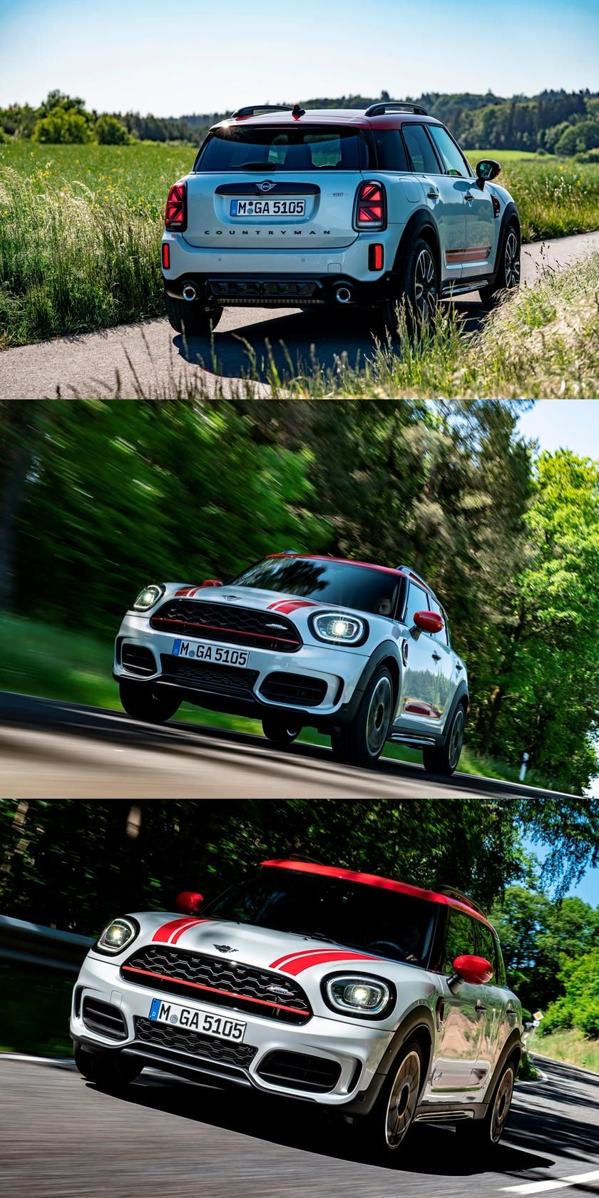 2021 Mini JCW Countryman Gets A Fresh Face And New Tech