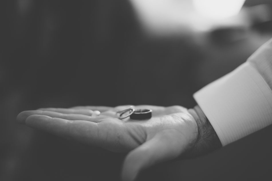 Brette & Dave's wedding rings -- Asheville, NC -- by Jameykay and Arlie Photography