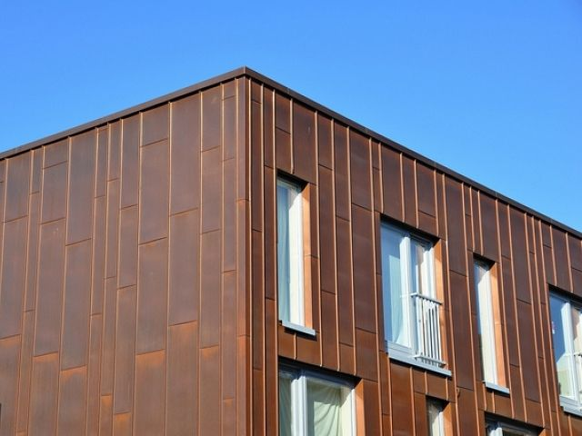 Copper Cladding Panels Google Search Zinc Cladding Cladding Panels Facade Architecture