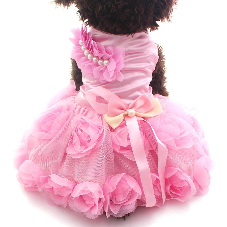 Roses & Bows Princes Gown | Dog Clothes | Pinterest
