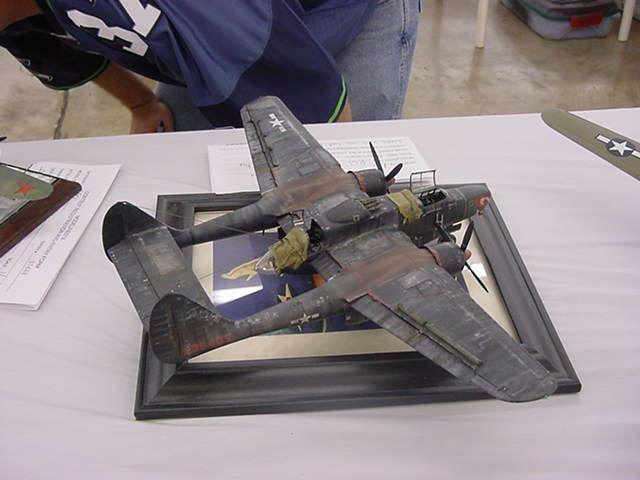 148 P 61 Black Widow Model Aircraft Pinterest Black
