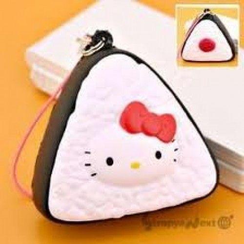 Squishy Cats Buzzfeed : Rare Sanrio Hello Kitty Rice Ball Squishy. Squishes Pinterest Sanrio hello kitty, Rice ...