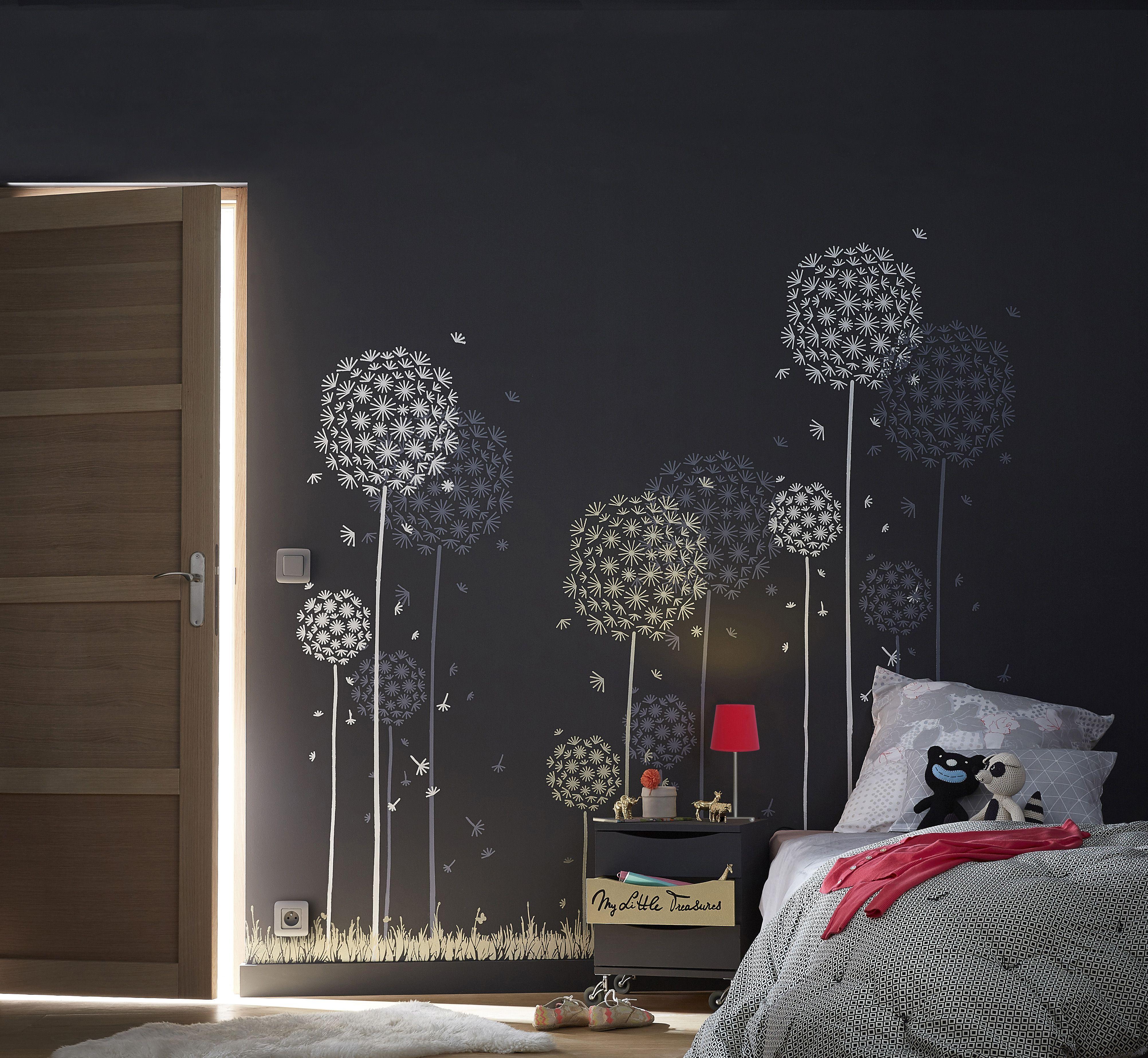 Pochoirs bucoliques pour chambre po tique ideedeco chambre enfants pinterest - Pochoir mural chambre ...