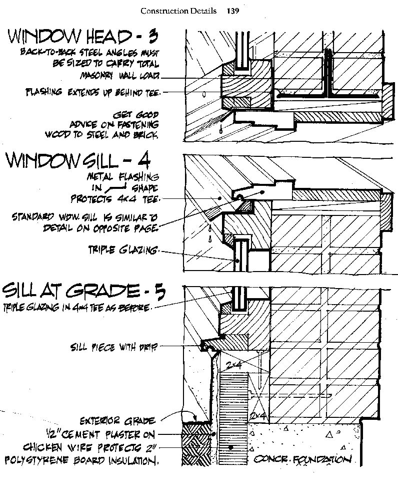 Solar Wall Or Trombe Wall Trombe Wall Architecture Plan