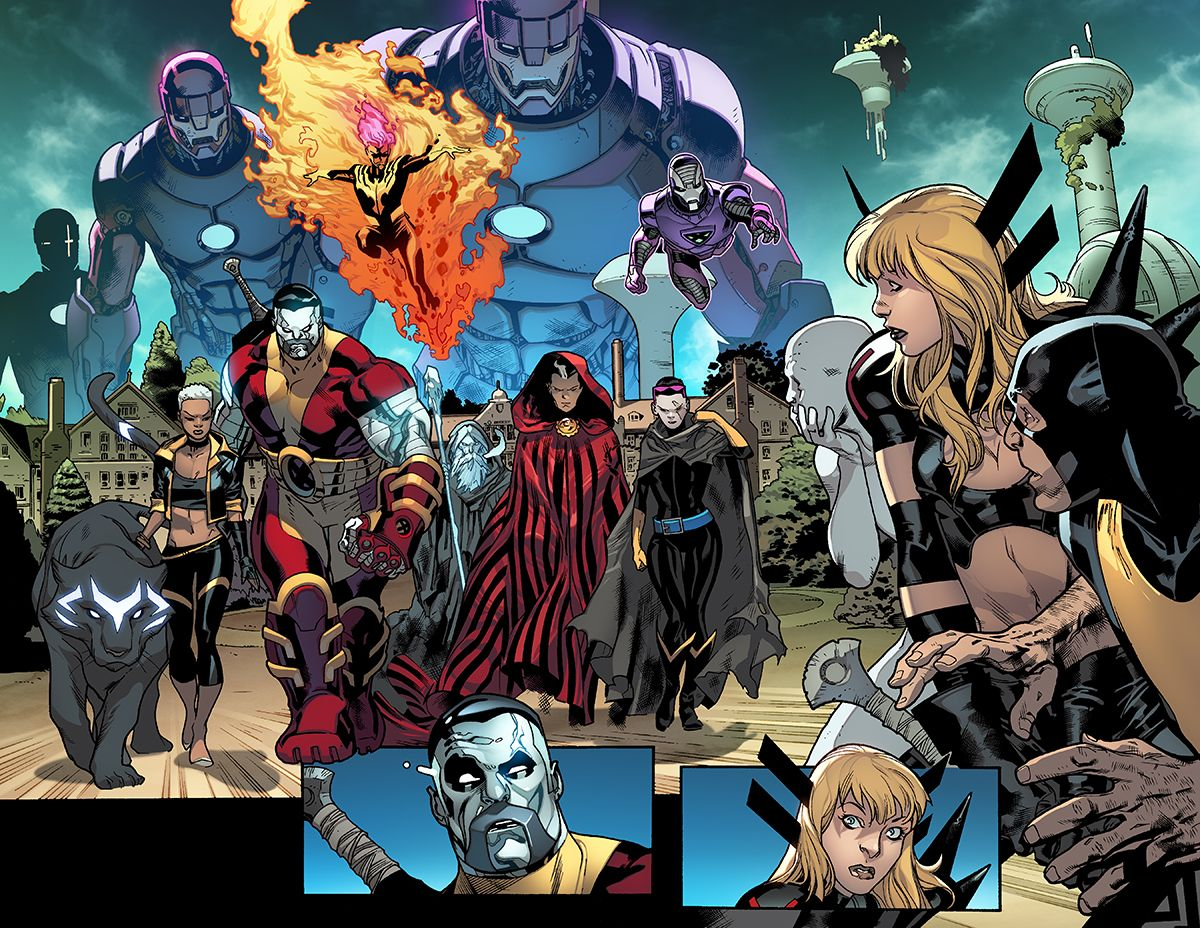 All New X Men Artist Stuart Immonen Talks About The Future The Past Newsarama Com Marvel Comic Character Artist Stuart Immonen