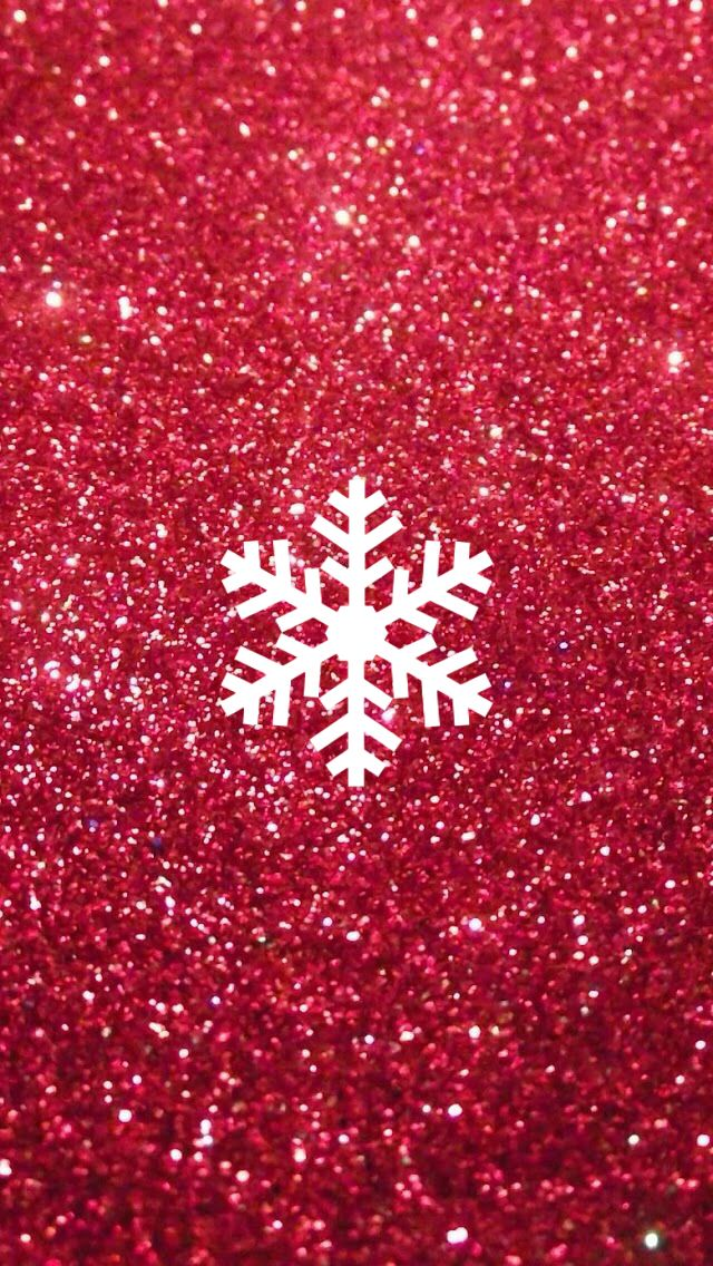 red holiday snowflake instagram icon Instagram