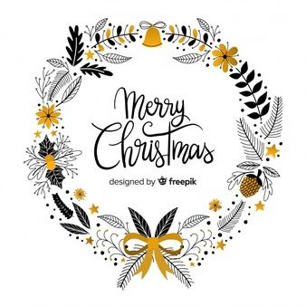 Photo of Download Hand Drawn Christmas Wreath for free