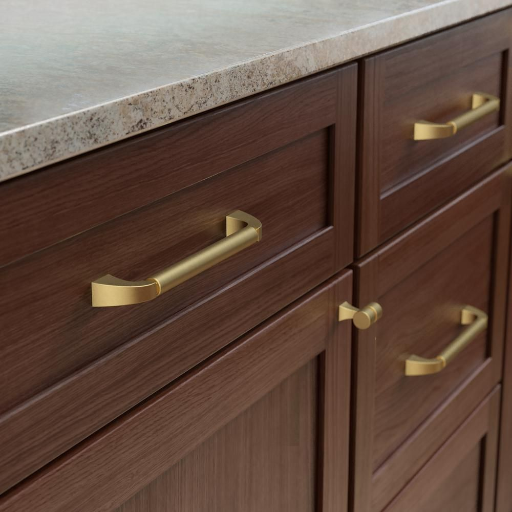 STEPPED WITH BASE vintage cabinet cupboard chest drawer knobs pull handles