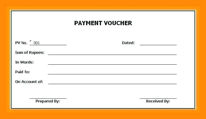 receipt format for cash payment voucher receipt sample