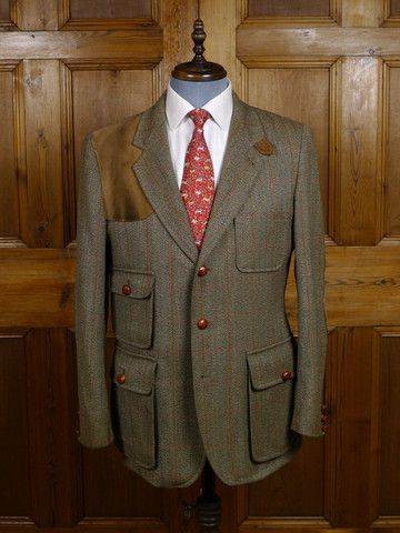 All The Right Detailing On This Vintage Shooting Jacket Www Savvyrow Co Uk Tweed Jacket Tweed Run Jackets