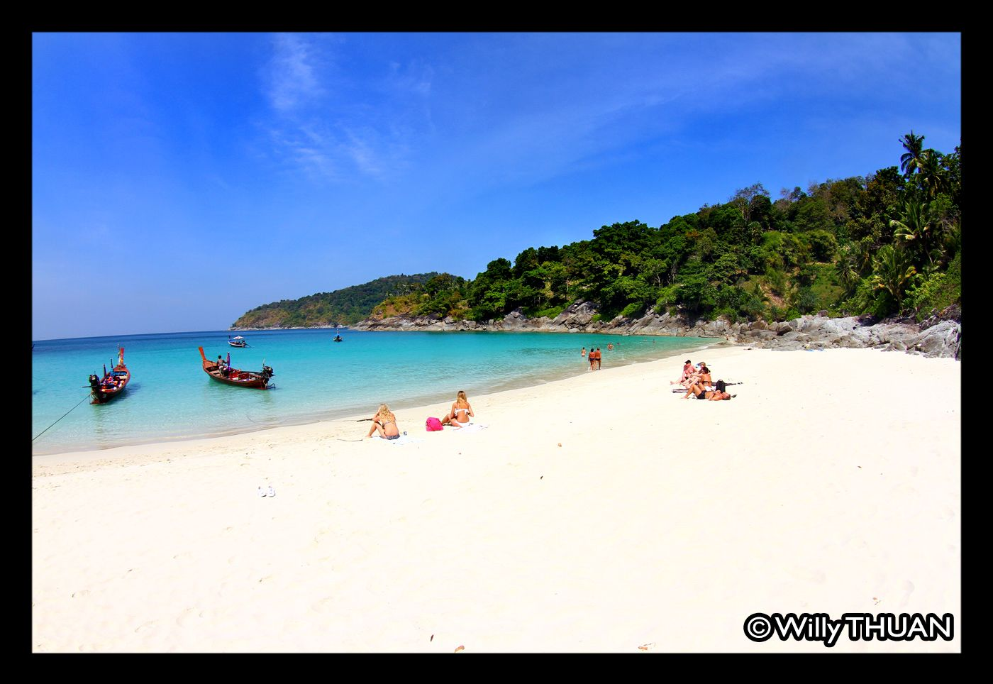 Freedom Beach is an anomaly on Phuket